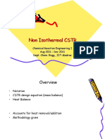 Non Isothermal c Str