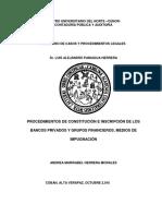 Bancos Privados y Grupos Financieros