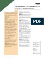 Factores Predictores de Deterioro Funcional