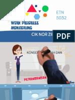 Work Progress Monitoring