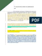 Identifcación y Evaluación de Impactos 07 10 2014 Draft