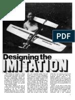 Designing the Imitation Part 1