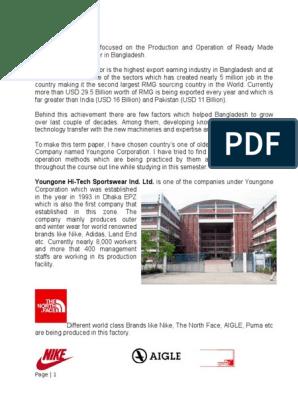 Term Paper- POM- Ferdous docx | Factory | Bangladesh