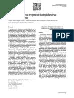 Deficiencia de Hierro en El Preoperatorio de Cirugía Bariátrica Julio 2015