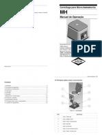 Manual de Operação. Centrífuga Para Micro-hematócrito. 11