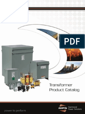 Hammond SP100MQMJ Control Transformer 240//480 Volt Primary 120//240 Volt Secondary 100 VA Screw Terminal Connection