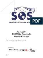 ACTG 2011 - Midterm Package - 2012-2013