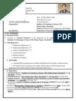 Dr. Abhinav Goel Resume