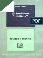 Fatone, Vicente - El Budismo Nihilista