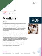 Columbia Brochure Manikins