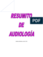Resumito de Audiología Para Examén de Grado