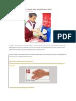 7 Langkah Cara Mencuci Tangan Yang Benar Menurut WHO