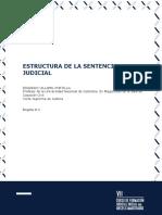 Módulo Estructura de La Sentencia Judicial