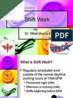 Shiftwork
