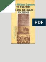 Lapierre, Jean-William - El Análisis de Los Sistemas Políticos