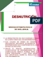Clase 12 Desnutrición