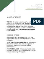 BPC Code of Ethics