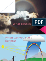 What Causes a Rainbow