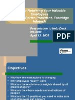 Retaining Employees 4-13-05
