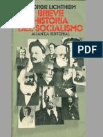 Lichtheim, George - Breve Historia Del Socialismo
