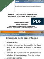 Realidad y Desafio de Las Universidades Promotoras de Salud