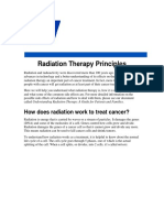 Radiation Therapy Principle