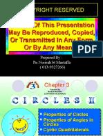 Chapter 3 Module Circles i i