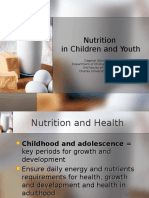 9Nutrition in Children and Youth