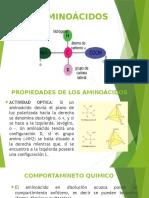 AMINOÁCIDOS y Proteinas