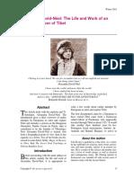 Alexandra David Néel -The Life and Work