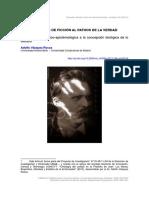 Vásquez Rocca, Adolfo - Nietzsche, De La Volunta de Ficción Al Pathos de La Verdad