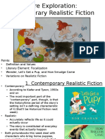 Realistic Fiction (Children's Literature)