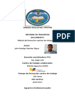 Informe Pasantias John Machoa 1