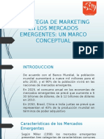 Estrategia de Marketing en Los Mercados Emergentes
