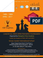 Candor All India FIDE Rating Chess 2017 Final