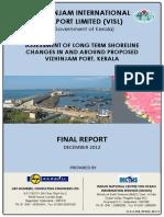 Vizhinjam Port Report Long Term SLC