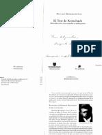 Sintesis Biografia de Hermann Rorschach y de La Historia Del Test (1)