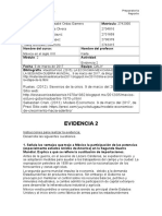 Evidencia 2 XXI