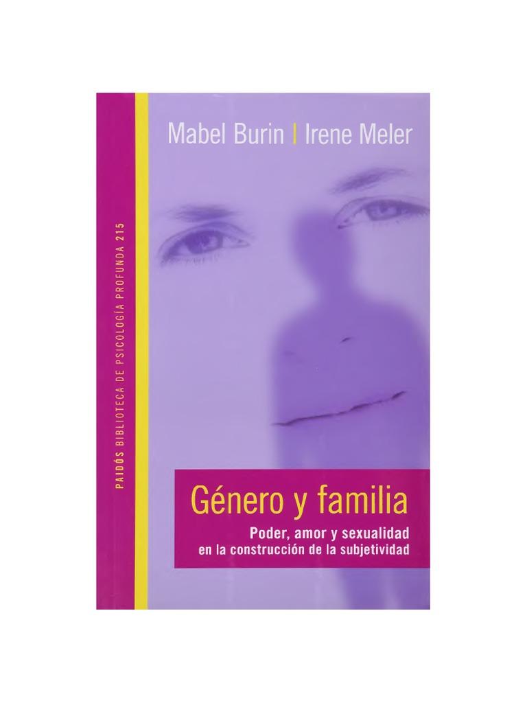 Burin Mabel Y Meler Irene - Genero Y Familia