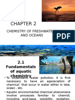 CHAPTER 2 Chemistry of Freshwaters and Oceans (II)