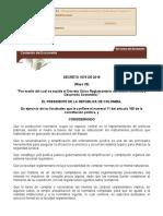 Decreto 1076 de 2015 - Norma