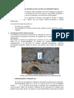 Estructuras Quimicas de Las Rocas Sedimentarias