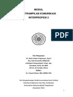 Modul Komunikasi IPE 2_Mahasiswa