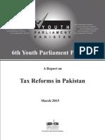 Tax Reform in Pakistan March 2015