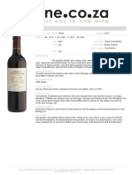 Groot Constantia Shiraz 2013 - Wine.co.Za
