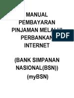 Manual Pembayaran Mybsn ptptn