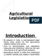 Agricultural Legislation