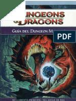 D&D 4ta. edición. Guia Del Dungeon Master.