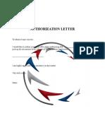 Authorization Letter Format Exclusive
