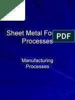 MProcesses 14 Sheet Metal Forming